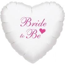 Bride to be balónek foliový bílý