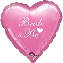 Bride to be balónek foliový růžový
