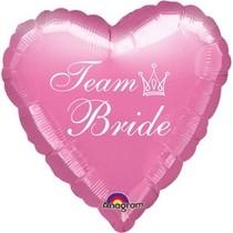Team Bride balónek foliový růžový