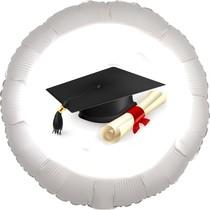 Promoce balónek fóliový kruh