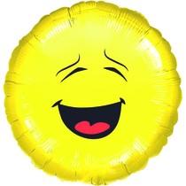 Smajlík balónek kruh 43 cm