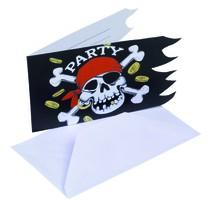 Pirátská párty dekorace