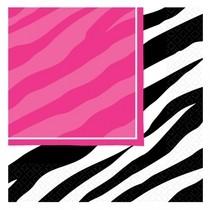 Zebra party výzdoba