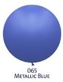 Obří metal. balónek - JUMBO - 065 BLUE