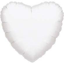 Balonek srdce bílé