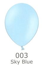 Balónek světle modrý 003