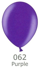 Balónek fialový metalický 062