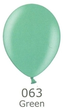 Balónek zelený metalický 063