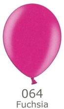 Balónek růžový metalický 064