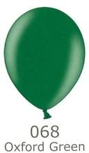 Balónek zelený metalický 068