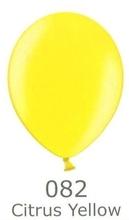 Balónky metalické - 082 CITRUS YELLOW