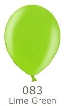 Balónky metalické - 083 LIME GREEN