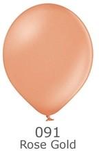 Balónky metalické - 091 Rose Gold