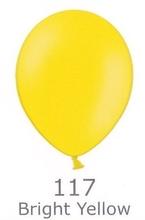 Balónky BRIGHT YELLOW 117