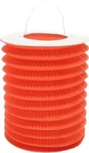 Lampion oranžový 28 cm ,1ks