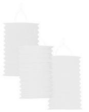 Lampion bílý 28cm , 1ks