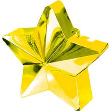 Závaží na balónky hvězda zlatá