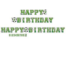 Fotbal nápis happy birthday 320 cm x 24 cm