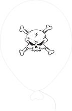 Piráti - balonek bílý
