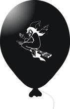Čarodějnice - balonek