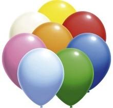 Balónky 20 ks 27 cm pastel mix