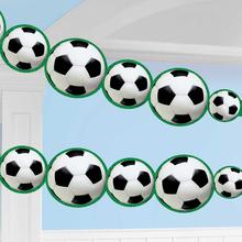 Girlanda fotbal 243 cm x 14 cm