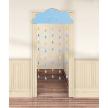 Závěsná dekorace Baby Boy papírová 190 cm x 96 cm