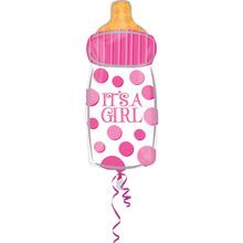 Je to holka balónek lahvička 58 cm x 25 cm