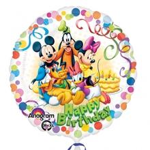 Mickey a přátelé fóliový balónek 45cm