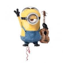 Mimoň s kytarou foliový balónek 71cm x 66cm