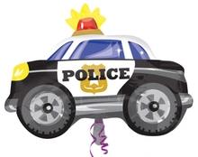 Police auto foliový balónek 60cm x 45cm