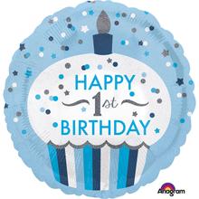 1. narozeniny balónek pro kluka 43 cm