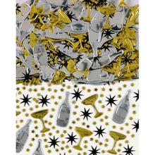Konfety Champagne Black, Gold, Silver 14g