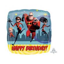 Úžasňákovi 2 šťastné narozeniny balónek foliový 43 cm