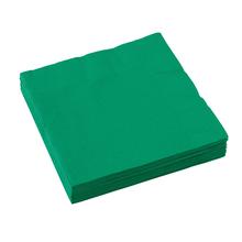 Ubrousky zelené 20 ks 33 cm x 33 cm 2-vrstvé