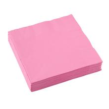 Ubrousky světle růžové 20 ks 33 cm x 33 cm 2-vrstvé