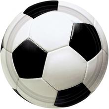 Fotbal talíře 8ks 18cm