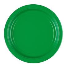 Talíře zelené 8ks 23cm