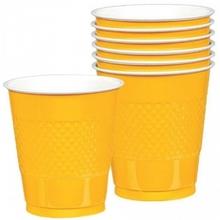 Kelímky Yellow 10ks 355ml plastové