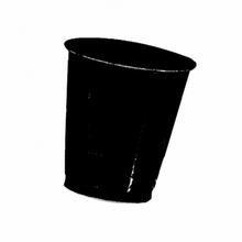 Kelímky Black plastové 10ks, 355ml