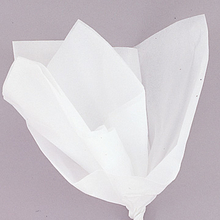 Hedvábný papír bílý 10ks 51cm x 66cm