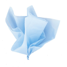 Hedvábný papír světle modrý 10ks 51cm x 66cm