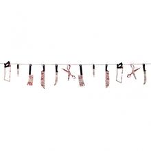 Girlanda Bloody Weapons 230cm