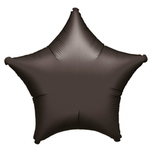 Balonky foliove hvězda černá