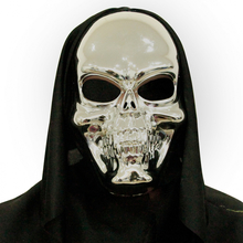 Lebka maska 3D plastová