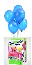 Helium Balloon time + balónky modré 30ks