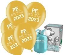 Helium Balloon time, PF 2020 balónky Metallic mix 25ks
