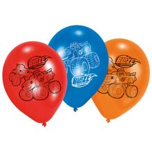 Blaze balónky 6ks mix 22,8cm