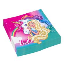 Barbie ubrousky 20 ks, 33 cm x 33 cm