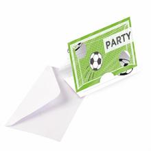Pozvánky na party fotbal 8 ks